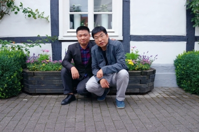 James und David, Mit dem geschichtsträchtigen historischen Stadtkernen findet Rheda-Wiedenbrück reges Interesse