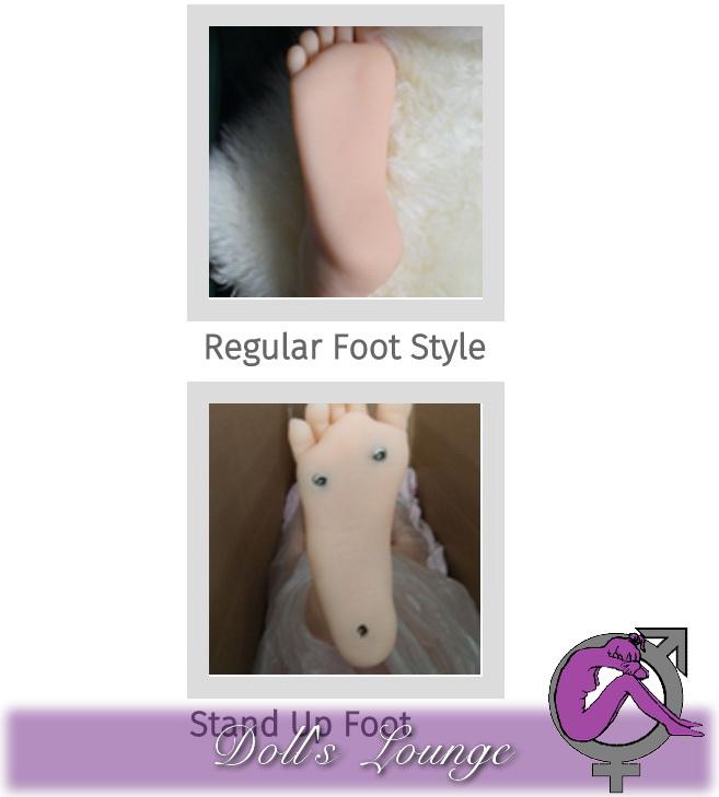 Standup Function TPE LOVEDOLL Stehfunktion für TPE Liebes und Gummipuppen, damit diese selbstständig stehen können