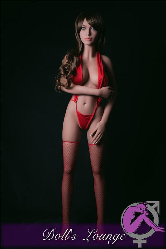 Lebensechte Dollslounge TPE Asia Premium Sexpuppe Linda, Premium Gummipuppe der Realdoll Klasse