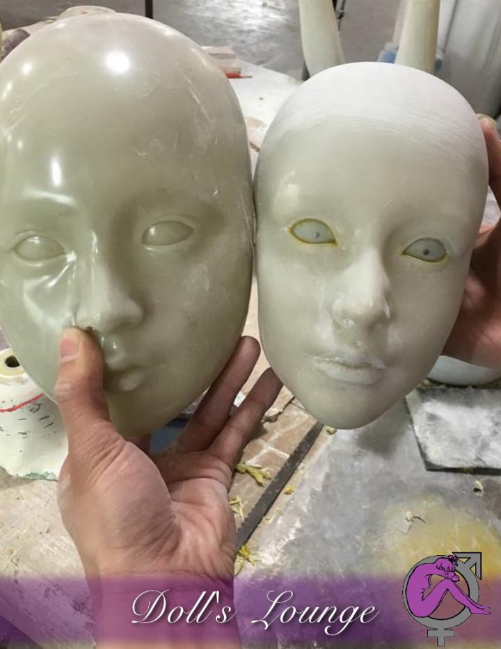 Bildhauerei Customized Premium Lovedoll, Individualisierte Premium Gummipuppe nach Fotovorlage für Dollslounge Premium Sexpuppen. Geben Sie Ihrer Liebespuppe Ihr Wunschgesicht!