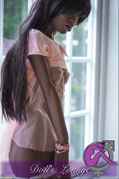 168cm Nava Ebony Shocobunny TPE Lovedoll