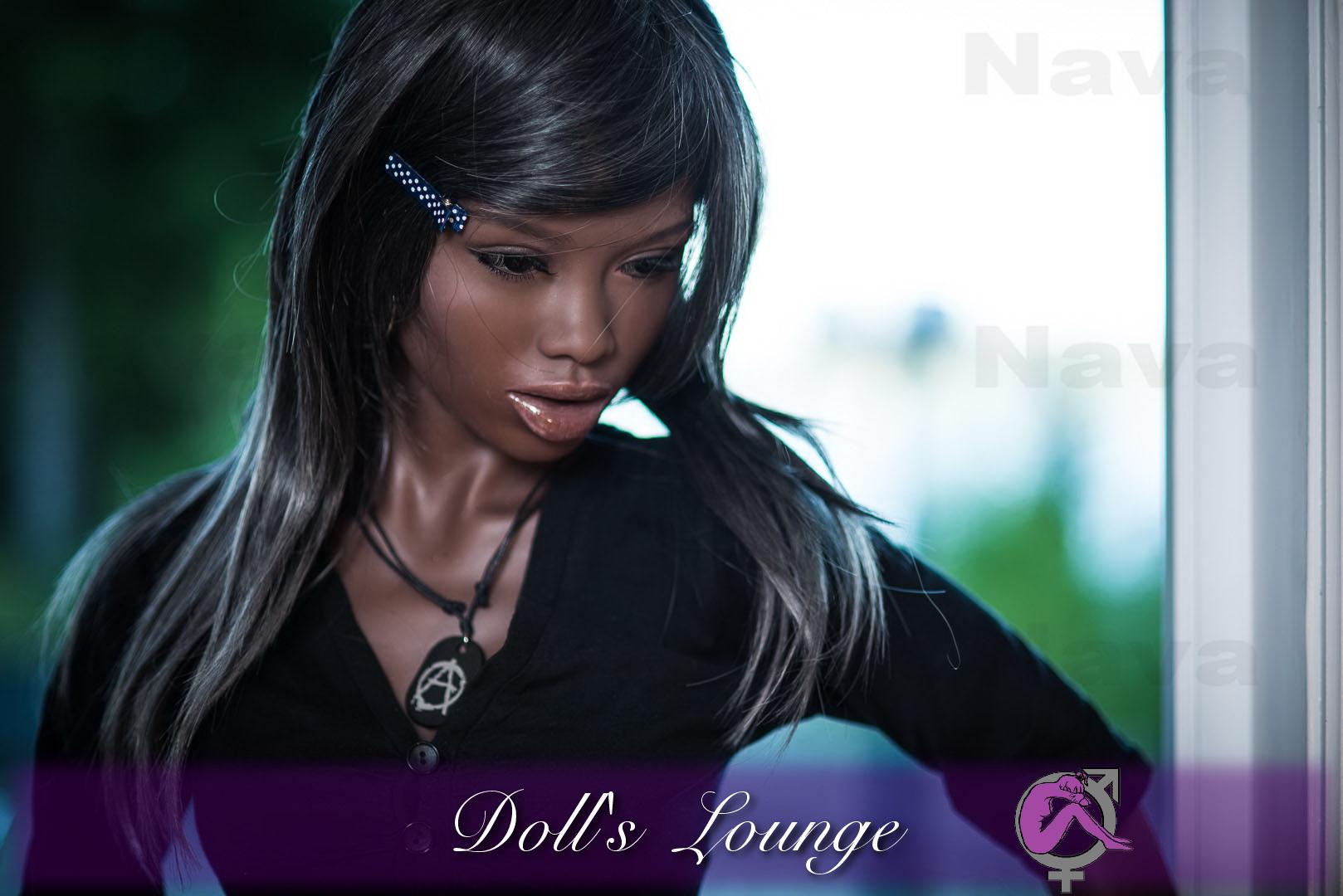 WM-Doll NAVA das TPE- Lovedoll EBONY Mannequin der Superlative