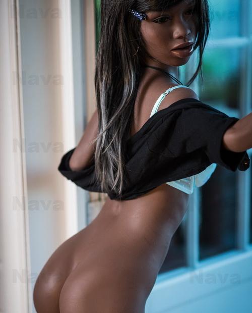 Nava Ebony WM-Doll die größte 168cm Lovedoll