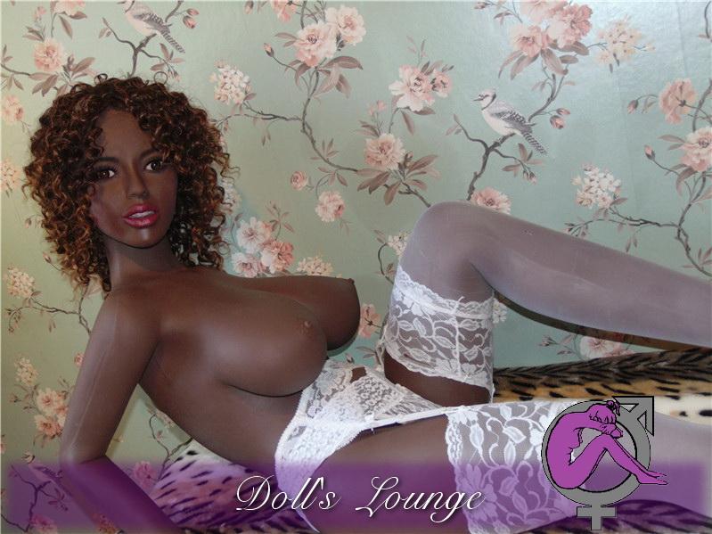 Oriental Rose Doll - Ebony Violetta Chocolate Girl 156cm Cup H head 121, Asian Tpe Lovedoll