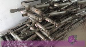 6YE Skelette Premium und Standard mit Fingerwiring im Unterarm