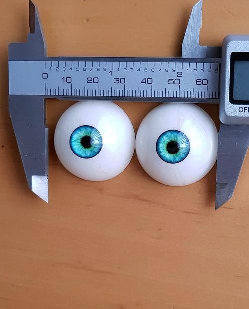 Augenfarbe Lagune Blue Ersatzaugenpaar für Doll's Lounge Puppen